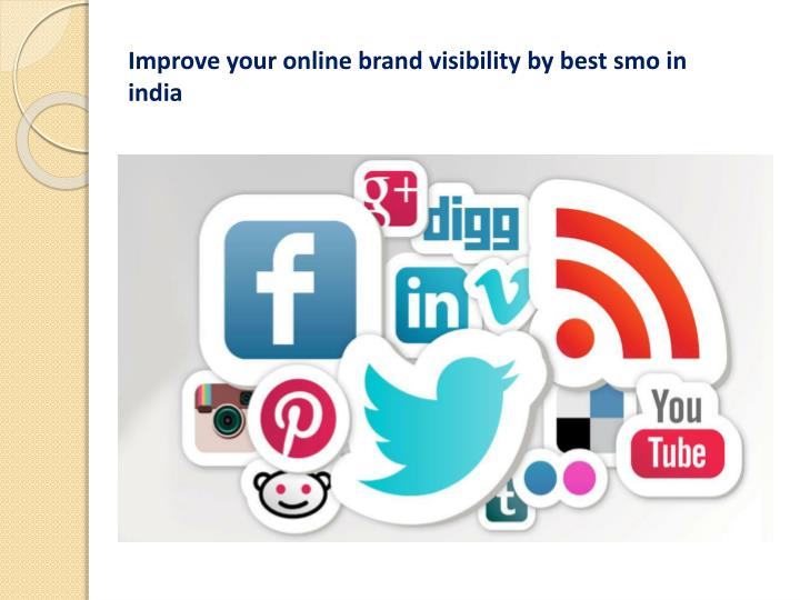 Improve your online brand visibility by best