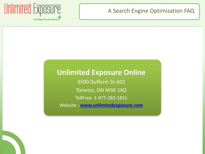 Unlimited Exposure Online