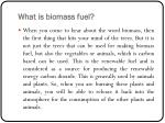 what is biomass fuel