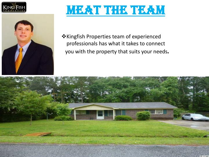 Kingfish Properties team of experienced