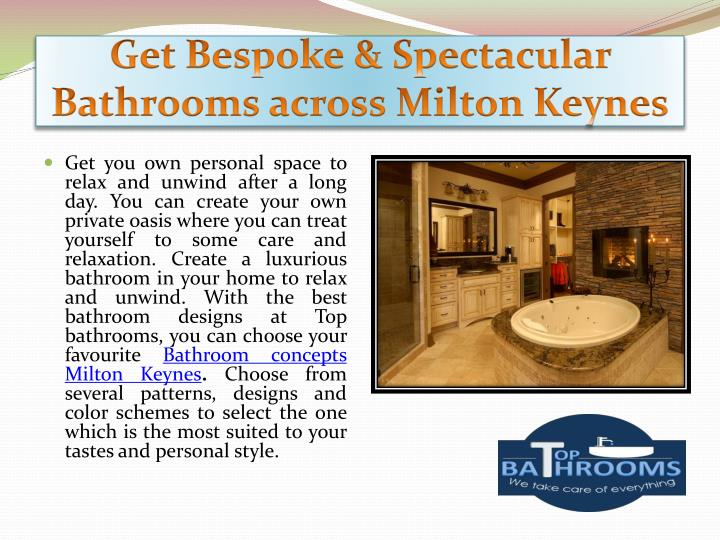 Get bespoke spectacular bathrooms across milton keynes