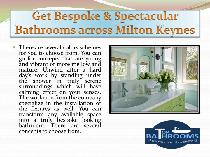 Get Bespoke & Spectacular Bathrooms across Milton Keynes