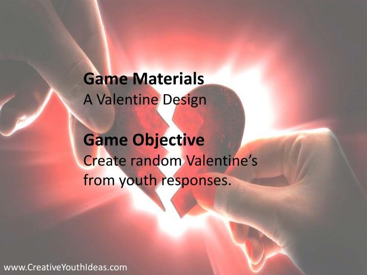 Game Materials
