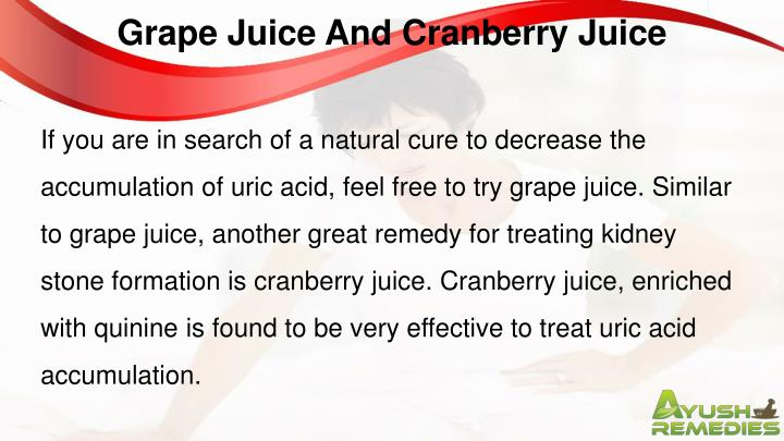 Grape Juice And Cranberry Juice
