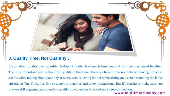 3. Quality
