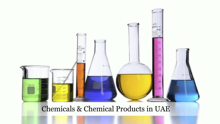 Chemicals & Chemical Products in UAE