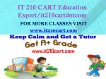 it 210 cart education expert it210cartdotcom1