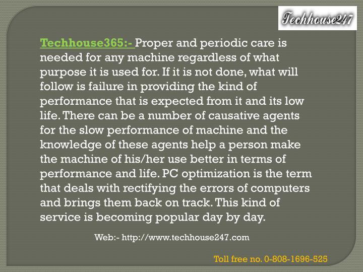 Techhouse365:-