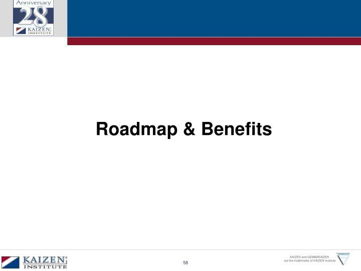 Roadmap & Benefits