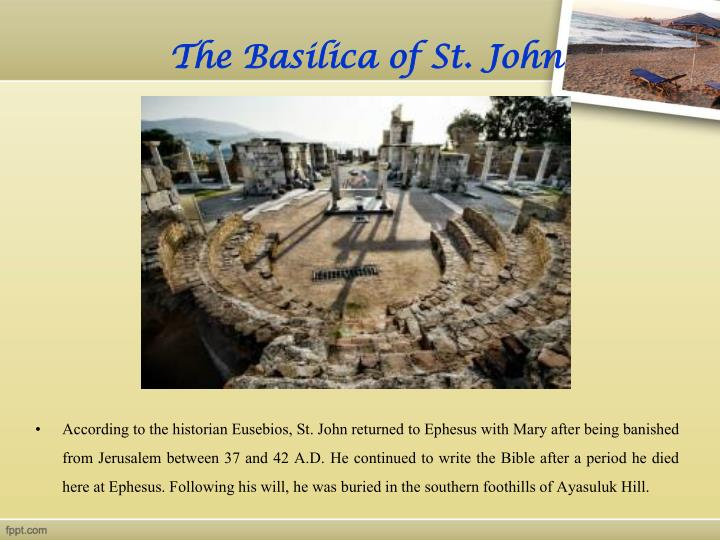 The basilica of st john