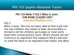 phi 103 papers absolute tutors14
