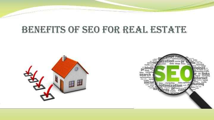 Benefits of seo f or r eal e state