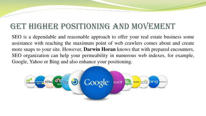 Get higher positioning and movement