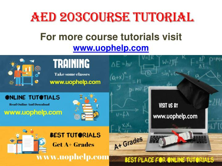 AED 203Course