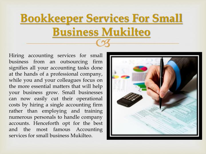Bookkeeper Services For Small Business Mukilteo