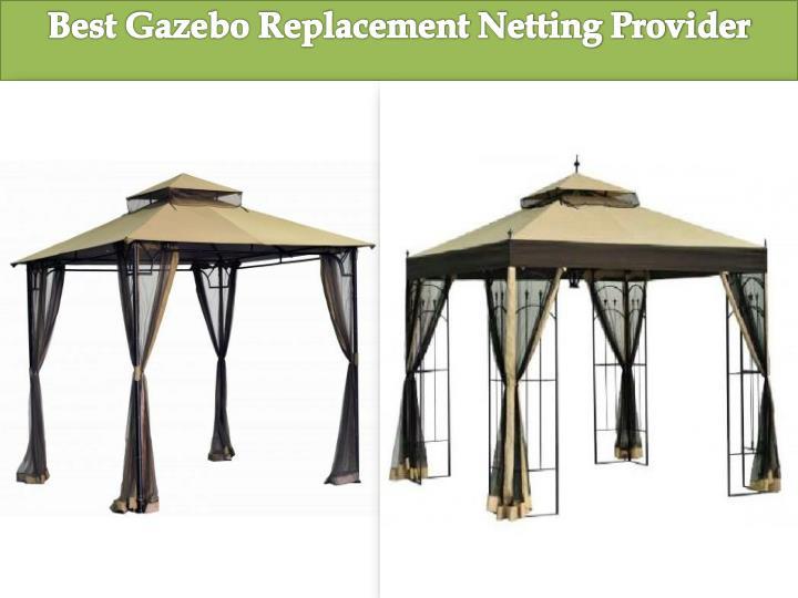 Best Gazebo Replacement Netting Provider