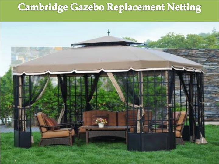 Cambridge Gazebo Replacement Netting