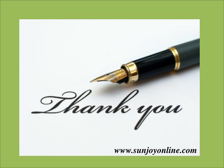 www.sunjoyonline.com