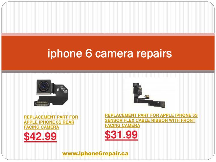 iphone 6 camera repairs