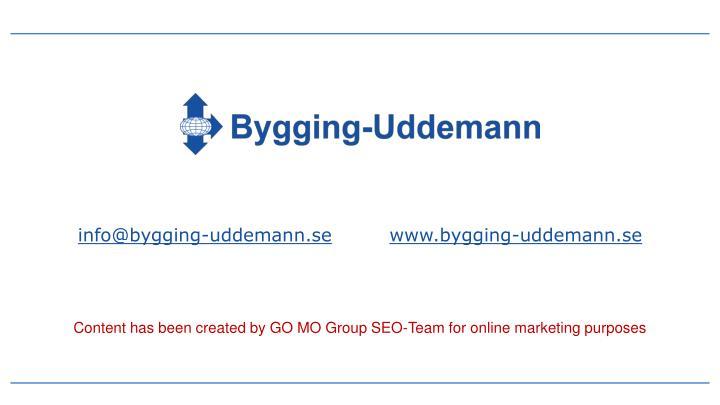 info@bygging-uddemann.se
