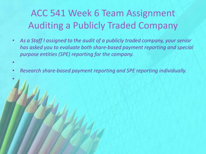 auditing a publicly traded company 2 Consideration of key principles needed in sarbanes-oxley act consideration of key principles auditing 98 percent of us publicly traded company sales or.