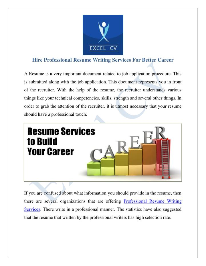 Best professional cv writing company