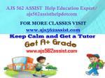 ajs 562 assist help education expert ajs562assisthelpdotcom1