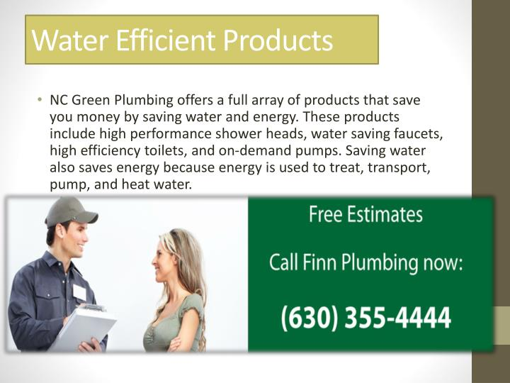 Water Efficient Products
