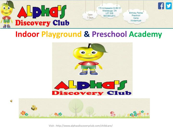 Indoor playground preschool academy