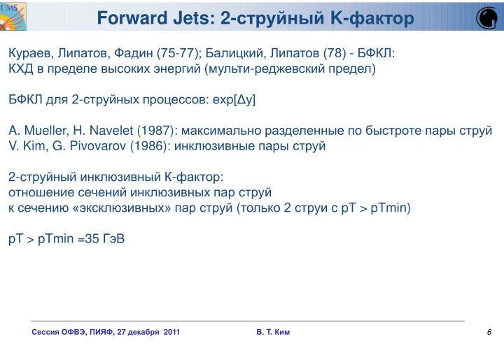 Forward Jets: