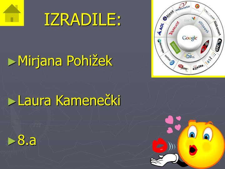 IZRADILE: