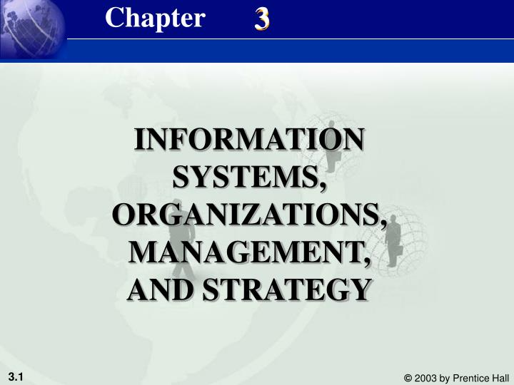 Information systems organizations management and strategy