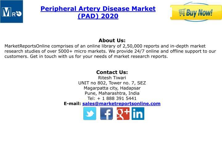 Peripheral Artery Disease Market