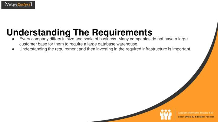 Understanding The Requirements