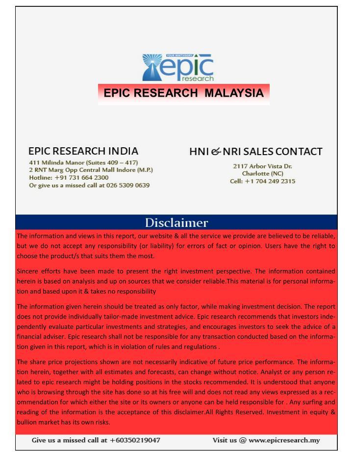 EPIC RESEARCH  MALAYSIA