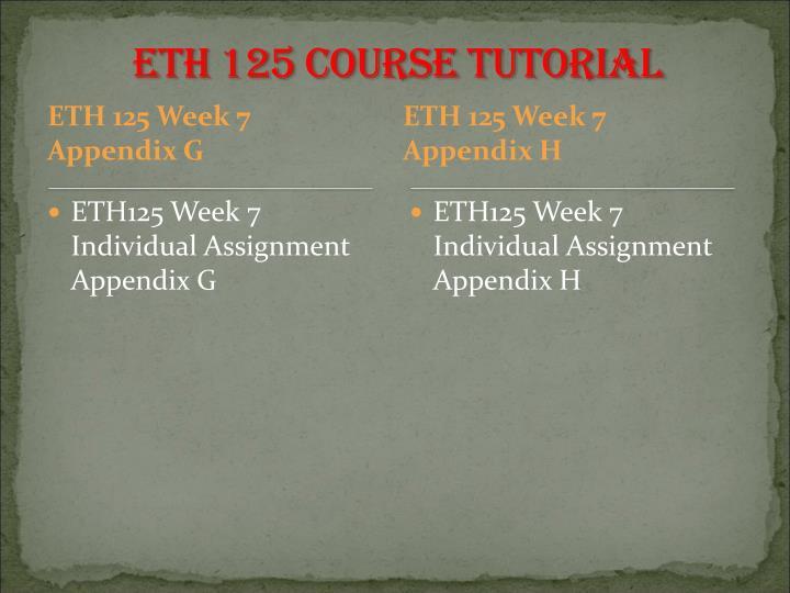 ETH 125