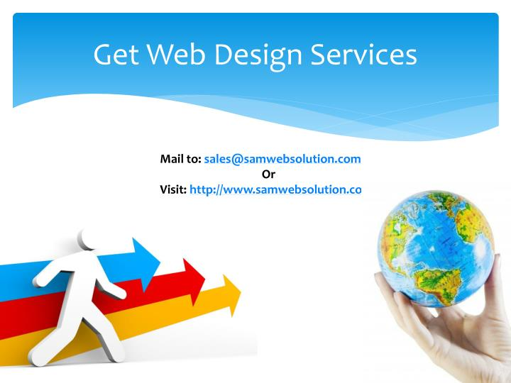 Get Web Design Services