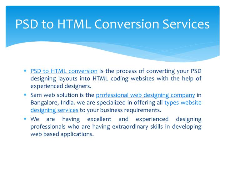 Psd to html conversion services1