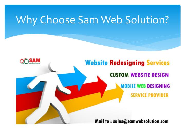 Why Choose Sam Web Solution?