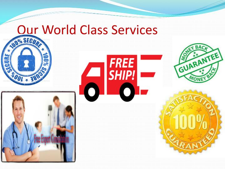 Our World Class Services