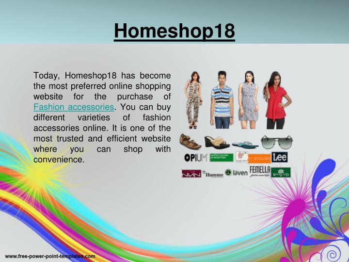 Homeshop18