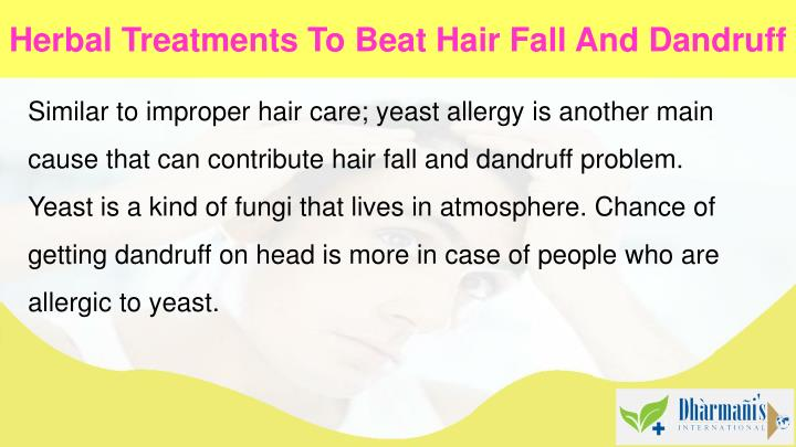 Herbal Treatments To Beat Hair Fall And Dandruff