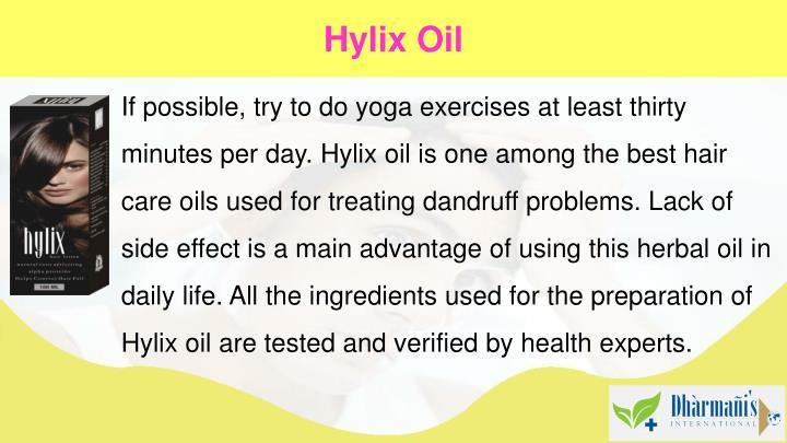 Hylix Oil