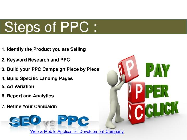 Steps of PPC :
