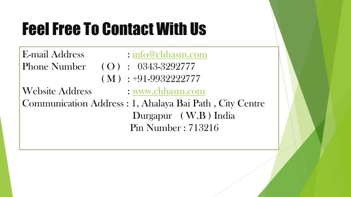 Feel Free To Contact