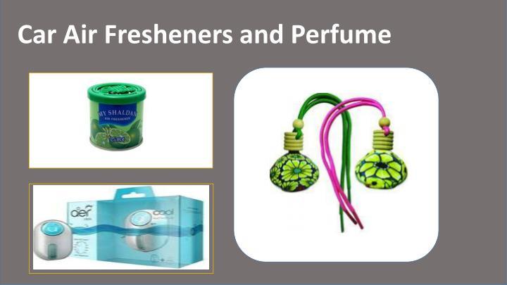 Car Air Fresheners and Perfume