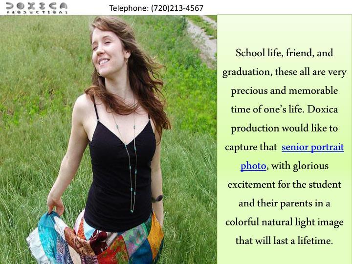 Telephone: (720)213-4567