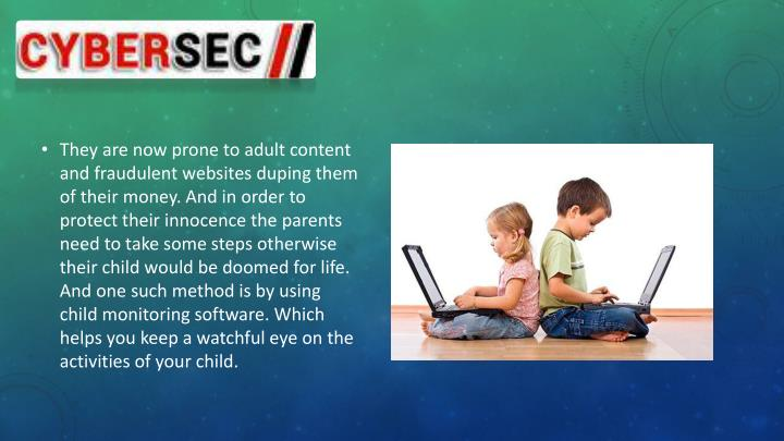 They are now prone to adult content and fraudulent websites duping them of their money. And in order to protect their innocence the parents need to take some steps otherwise their child would be doomed for life. And one such method is by using child monitoring software. Which helps you keep a watchful eye on the activities of your child.