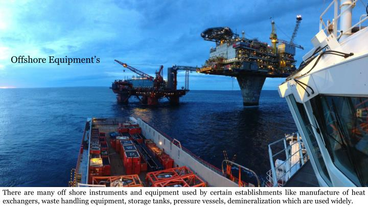 Offshore Equipment's