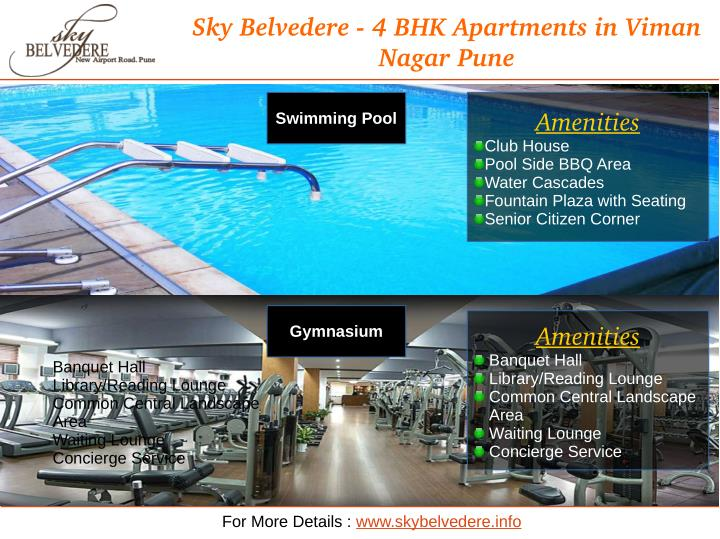 Sky Belvedere ­ 4 BHK Apartments in Viman